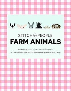 Do it yourself stitch people elizabeth dabczynski bean stitch people farm animals staple bound november 1 2015 solutioingenieria Choice Image