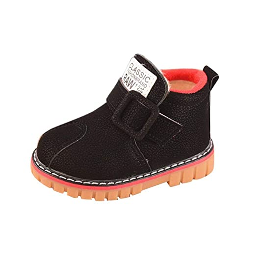 Kasien Baby Shoes,Baby Children Warm Boys Girls Martin Sneaker Boots Kids Baby Casual Snow Shoes