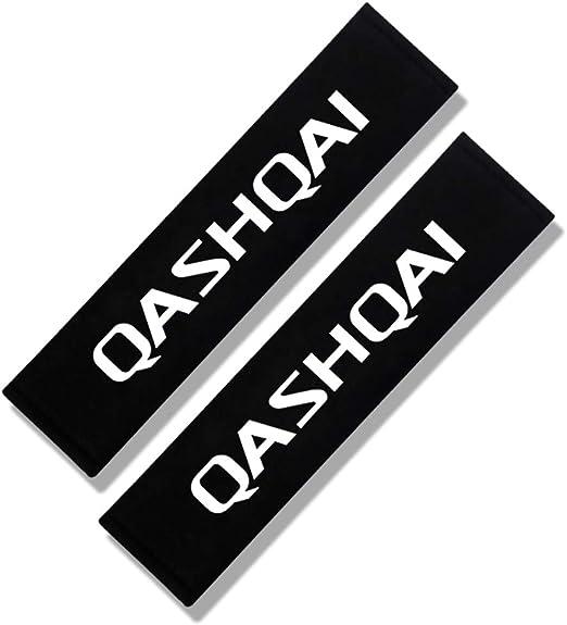 N//A 2 St/ück Sicherheitsgurte Gurtpolster f/ür Nissan Qashqai Nismo Juke Note Navara Leaf