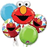 Elmo Party Bouquet Of Balloons