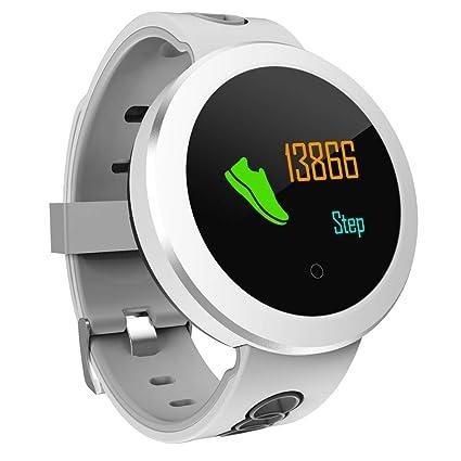 Four Heart Rate Meter, Fitness Tracker Blood Pressure Pulse Stepping Gauge Sports Bracelet Smart Watch