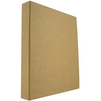 Archivador de anillas A4 de papel kraft reciclado: Amazon.es ...