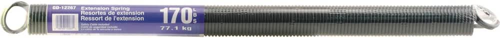 Yellow Prime-Line Products GD 12267 Sectional Door Extension Spring with 25-Inch Cable