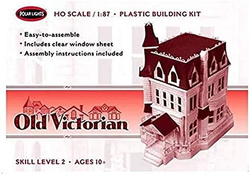 Old Victorian Mini Metals POL969 Polar Lights 1:87 Scale