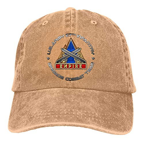 27th Infantry Brigade DUI Vintage Baseball Cap Trucker Hat for Men and Women