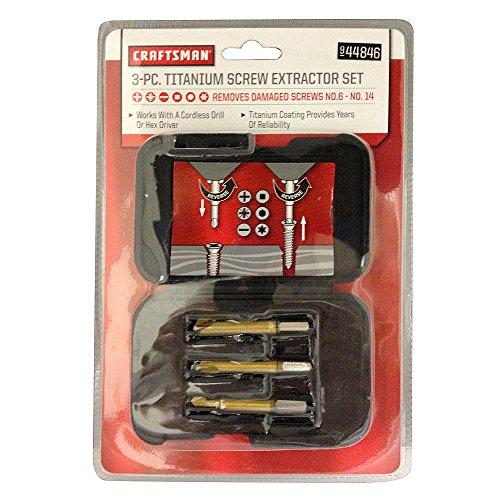 Craftsman Screw Extractor Set, Piece