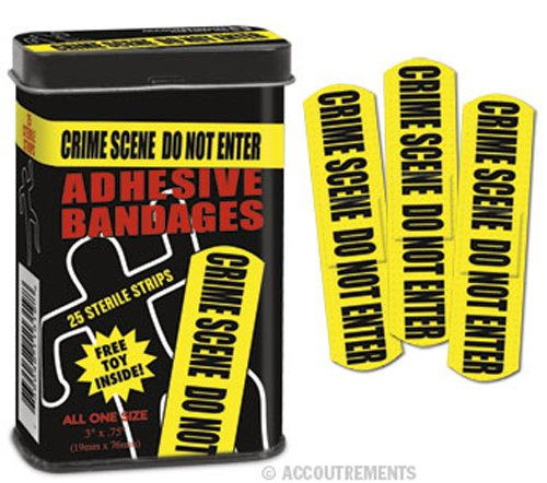 Accoutrements 11754 Crime Scene Bandages