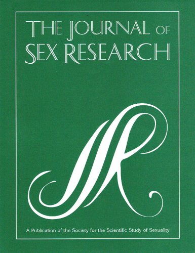 The Journal of Sex Research: A Publication of the Society for the Scientific Study of Sexuality (Volume 36, Number 3, August 1999)