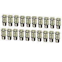 Camper Light Bulbs - SODIAL(R) 20X White 27 SMD LED 1156 1141 1003 RV Camper Trailer Interior Light Bulbs