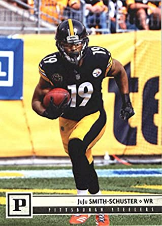 c7a80ad6a27 2018 Panini NFL Football #249 JuJu Smith-Schuster Pittsburgh Steelers  Official Trading Card
