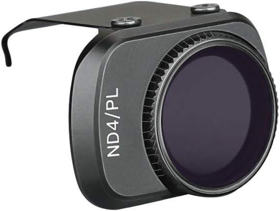 ND4-PL+ND8-PL+ND16-PL+ND32-PL Kimbird Neutral Density//Polarization Filter Set Compatible with DJI Mavic Mini,Angles Adjustable Camera Lens Filter 4 Pack