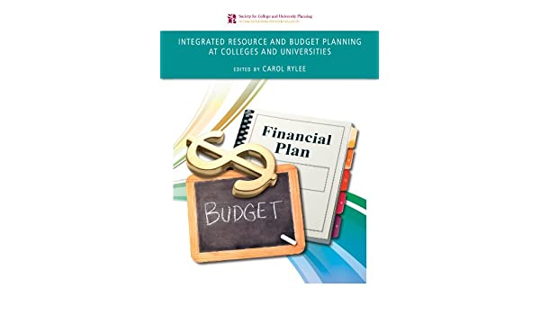 amazon com integrated resource and budget planning at colleges and