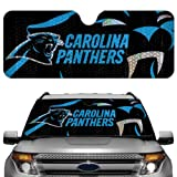 NFL Carolina Panthers Auto Sun Shade