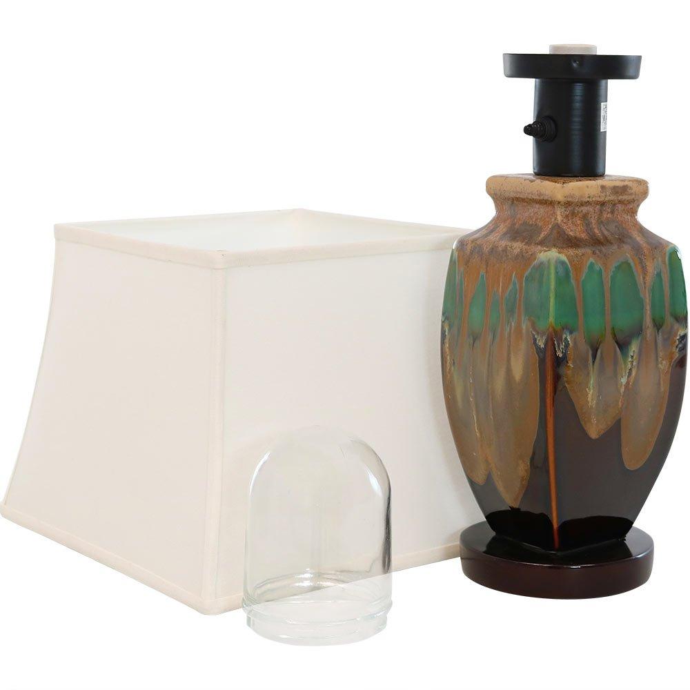 Sunnydaze Indoor Multi-Colored Ceramic Table Lamp, 23 Inch by Sunnydaze Decor (Image #8)