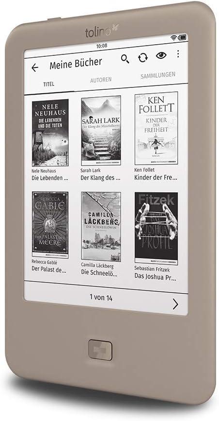 Tolino Page lectore de e-Book Pantalla táctil 4 GB WiFi Gris ...