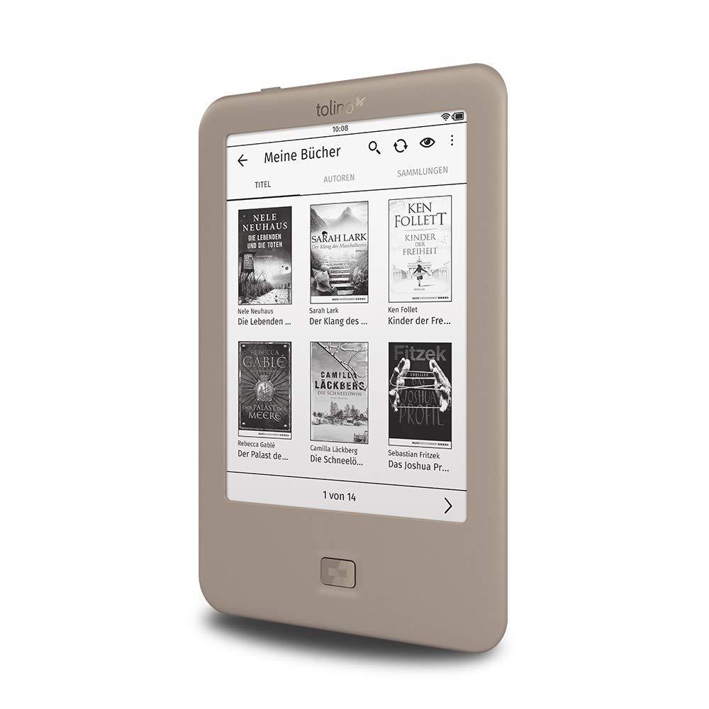 Tolino Page lectore de e-Book Pantalla táctil 4 GB WiFi Gris - E-
