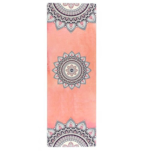 Cheap Seatopia Extra Thick Suede Yoga Mat 72X24 Inch Breathe Freely & Absorb Sweat Towel High Density Pilates Floor Non Slip Eco-friendly Anti-Tear Exercise Mat for Hot Yoga, Bikram Yoga, Pilates