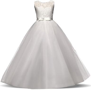 AGOGO AGOGO Mädchen Kinder Kleider Festlich Brautjungfern Kleid ...