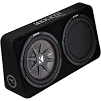 Kicker 1000W 12 2-Ohm Slim Shallow Subwoofer Sealed Enclosure | 43TCWRT122