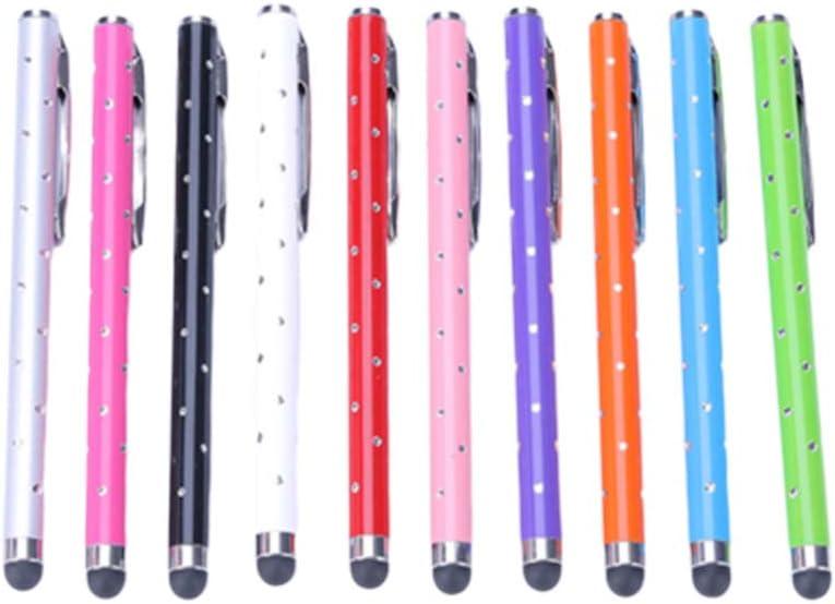 Hemobllo penna stilo penne capacitive per touchscreen per smartphone matita a sfera per touch tablet per tablet cellulare uso 10 pz