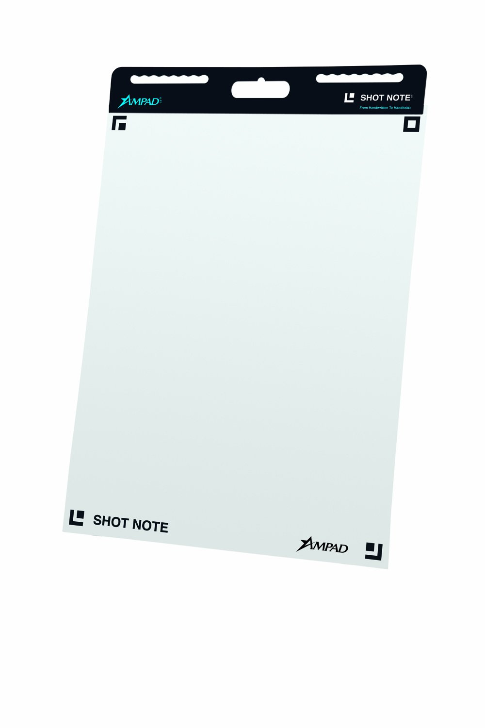 Ampad ShotNote Self Adhesive Easel Pad 23 1/4 x 31 Inches, Unruled, 25 Sheets Per Pad, 2 Pack (24-111) by Ampad