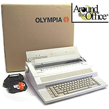 Olympia Mastertype-3 Electronic EW-1000 Typewriter in NEW factory carton with Dust Cover, 3 Ribbons, 3 Correction Tapes by Around The Office