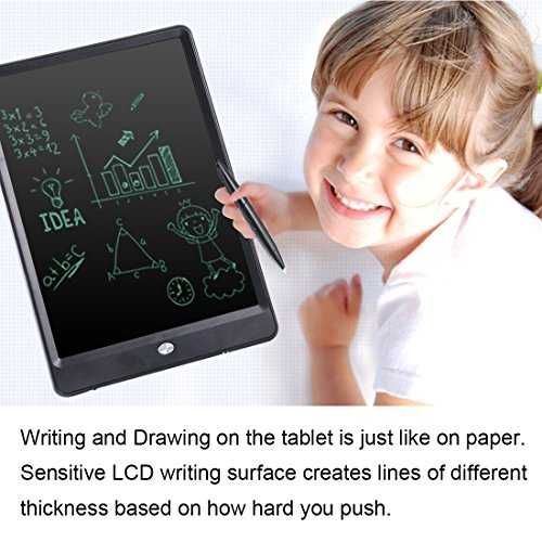 Etpark Writing Tablet, 10 inch Electronic Doodle Board, Digital Lock Durable Drawing Pad, LCD Handwriting Notepad, Screen Lock & Erase Key Pressure-sensitive Screen Eye-friendly by Etpark (Image #3)
