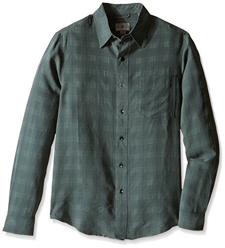 Royal Robbins Men's San Juan Plaid Long Sleeve Top,GREEN GABLES ,XX-Large