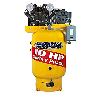 EMAX Industrial Air Compressor - Stationary Pistons EP10V120V1 by EMAX
