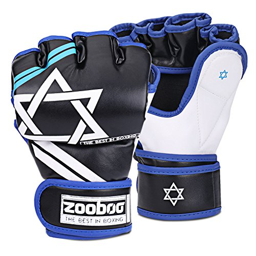 Flexzion Half Finger Boxing Gloves - Grappling MMA for sale  Delivered anywhere in USA