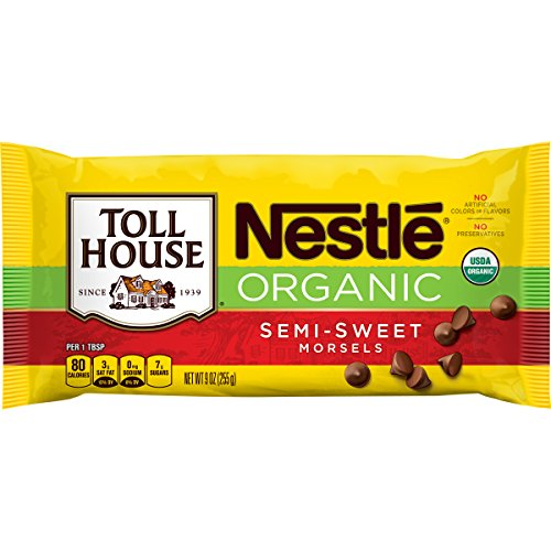 Organic Semi Sweet - Nestle Toll House Organic Semi-Sweet Chocolate Morsels, 9 Ounce (Pack of 15)