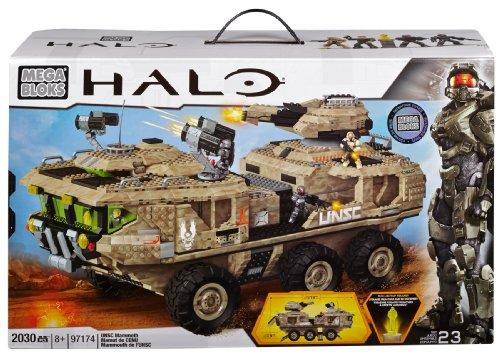 Mega Bloks Halo UNSC Mammoth Vehicle by Mega Bloks
