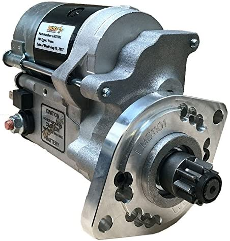 Rareelectrical NEW HIGH TORQUE STARTER COMPATIBLE WITH VOLKSWAGEN BEETLE 1.6L 1970-77 39911023 90160410203