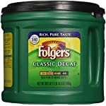 'Folgers Classic Decaf Ground Coffee, Medium Roast, 30.5 Ounce' from the web at 'https://images-na.ssl-images-amazon.com/images/I/51Koe6zjAhL._AC_SR150,150_.jpg'