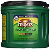 Folgers Classic Decaf Ground Coffee, Medium Roast, 30.5 Ounce