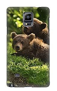 Animal Bear Case Compatible With Galaxy Note 4/ Hot Protection Case(best Gift Choice For Lovers)
