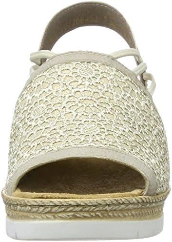 Rieker Damen 61983 Offene Sandalen mit Keilabsatz: ZQmfP