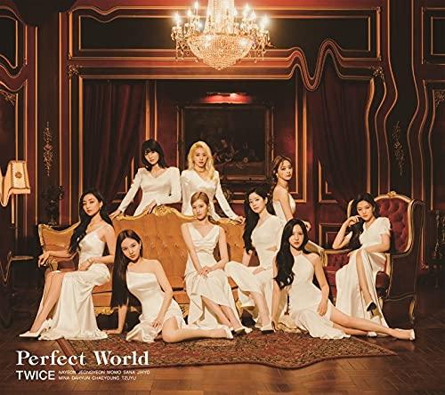 TWICE 트와이스 - Perfect World (첫 한정반A) (메가 자켓 포함)