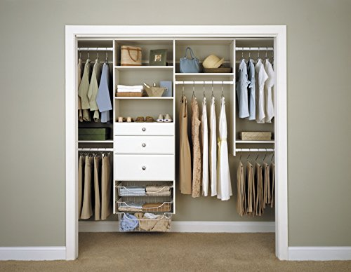 Easy Track Closet & Pantry Systems 4'' Drawer Storage, White