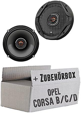 Jbl Gx602 2 Wege 16cm Koax Lautsprecher Einbauset Für Opel Corsa B C D Just Sound Best Choice For Caraudio Navigation