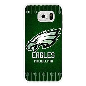 For Case Samsung Note 4 Cover , Customized NFL Philadelphia Eagles Logo White Hard Shell For Case Samsung Note 4 Cover , Philadelphia Eagles Logo For Case Samsung Note 4 Cover (Only Fit For Case Samsung Note 4 Cover )
