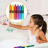coolest shower heads MAZIMARK-6Pc Baby Kids Paint Pen Shower Bathroom Bath Painting Pen Educational Toys Game