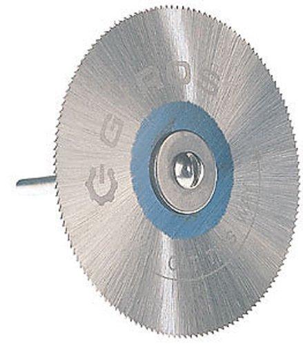 Gyros 82-12015 Saw Blade with Mandrel Set, Fine-Teeth, 2-Inch Diameter
