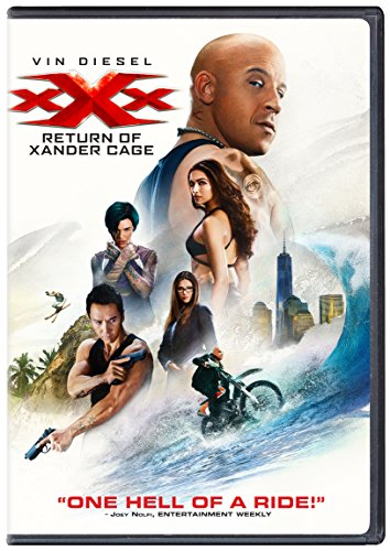 XXX Return of Xander Cage dvd cover & label (2017) R0 CUSTOM