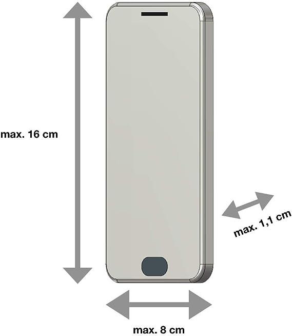 AQ Mobile Funda Cinturón Horizontal para Móviles y Smartphones ...