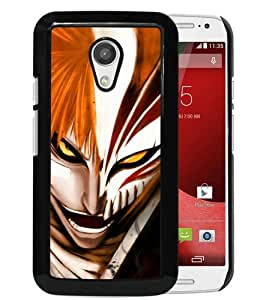Fashionable And Unique Designed Case For Motorola Moto G 2nd Generation Phone Case With Bleach Ichigo Black