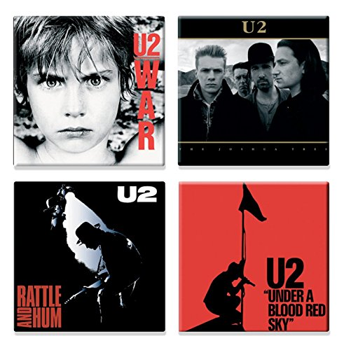 U2 4 X Fridge Magnet Albums Joshua Tree Various Designs for sale  Delivered anywhere in USA