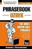 English-Uzbek phrasebook and 250-word mini dictionary (Uzbek Edition)