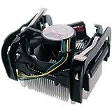 "Intel Socket 478 Copper Core/Aluminum Heat Sink & 2.5"" Fan w/Retention Clip & 3-Pin Connector up to 3.40GHz"