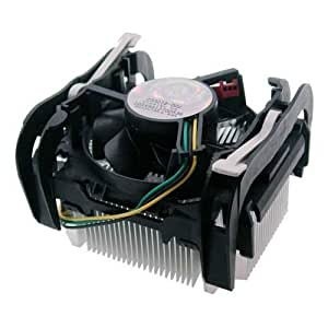 "Intel Socket 478 Copper Core/Aluminum Heat Sink & 2.5"" Fan w/Retention Clip & 3-Pin Connector up to 3.40GHz"